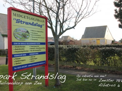 Midgetgolf Strandslag Julianapark